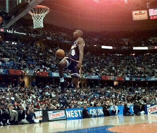 Kobe Bryants winning slam